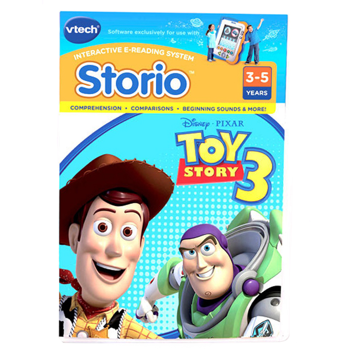 Vtech Storio Software Toy Story 3 - Software - Gaming System