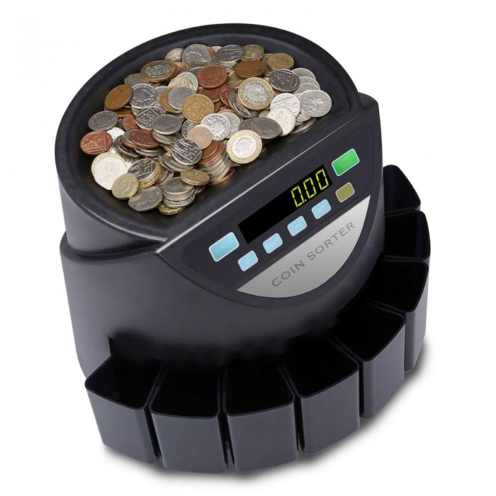 Electronic Money Coin Counter / Batch Sorter