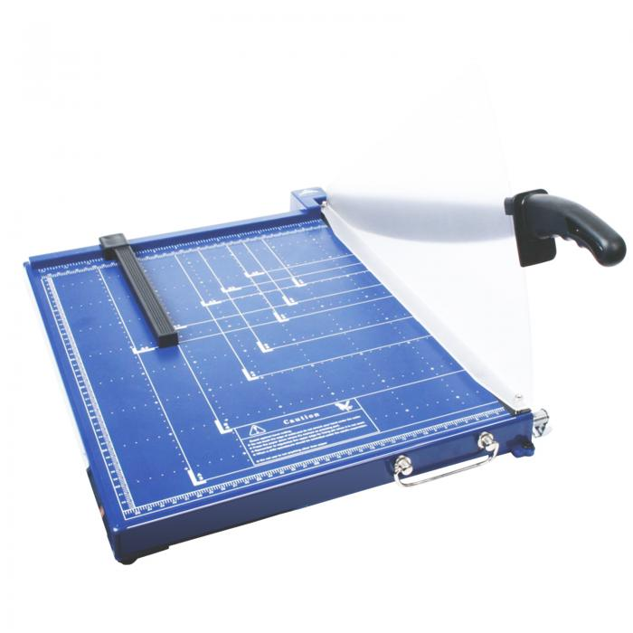 Professional Grade A3 Guillotine With Safety Guard - Blue