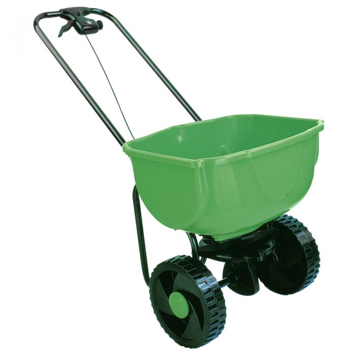 Heavy Duty Rock Salt Grit Grass Seed Spreader 35KG Capacity