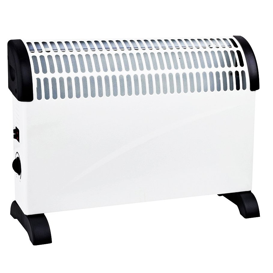 2 x 2KW Free Standing Convector Heater