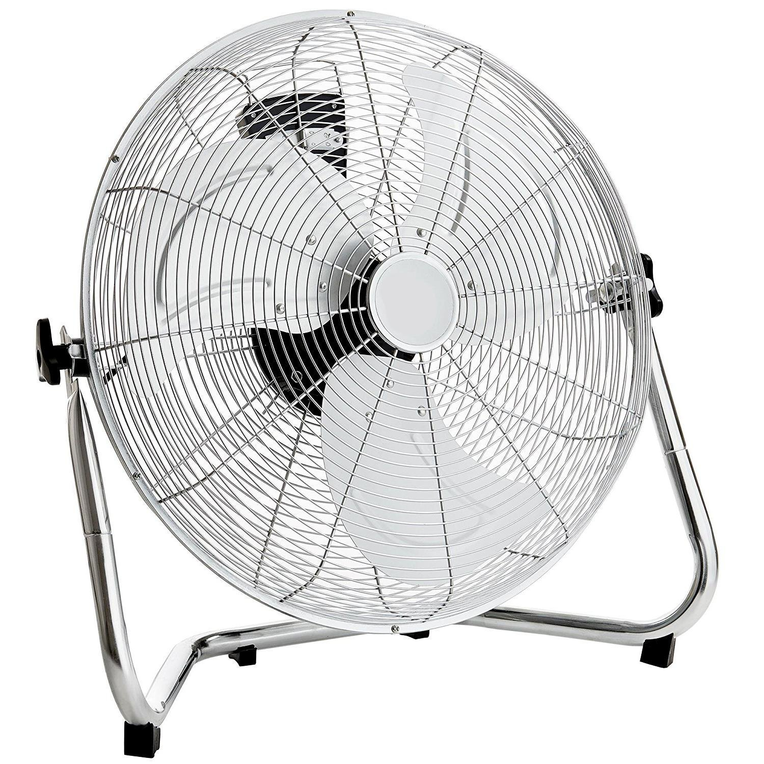 "18"" Chrome 3 Speed Free Standing Gym Fan"