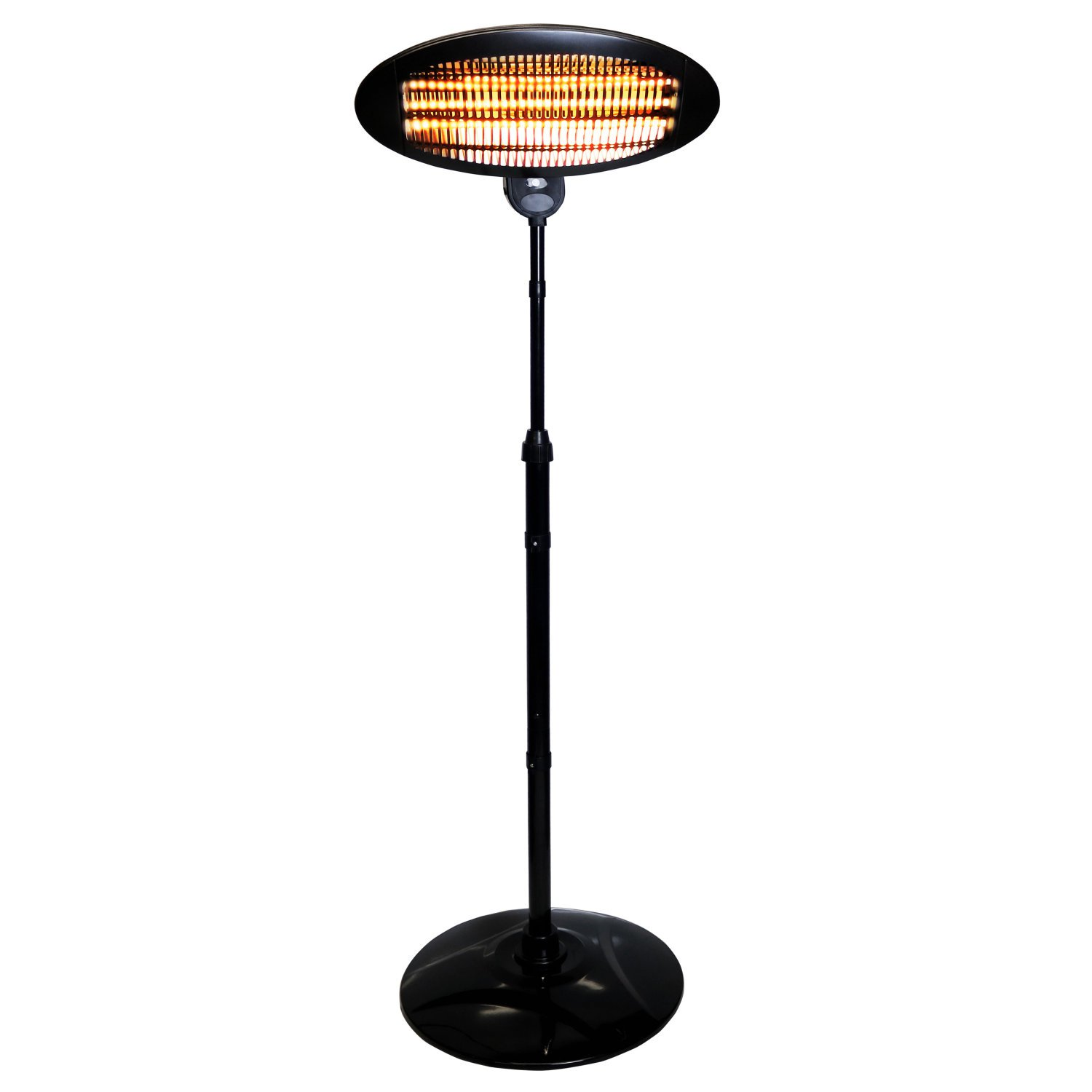 2KW Quartz Free Standing Outdoor Electric Garden Patio Heater