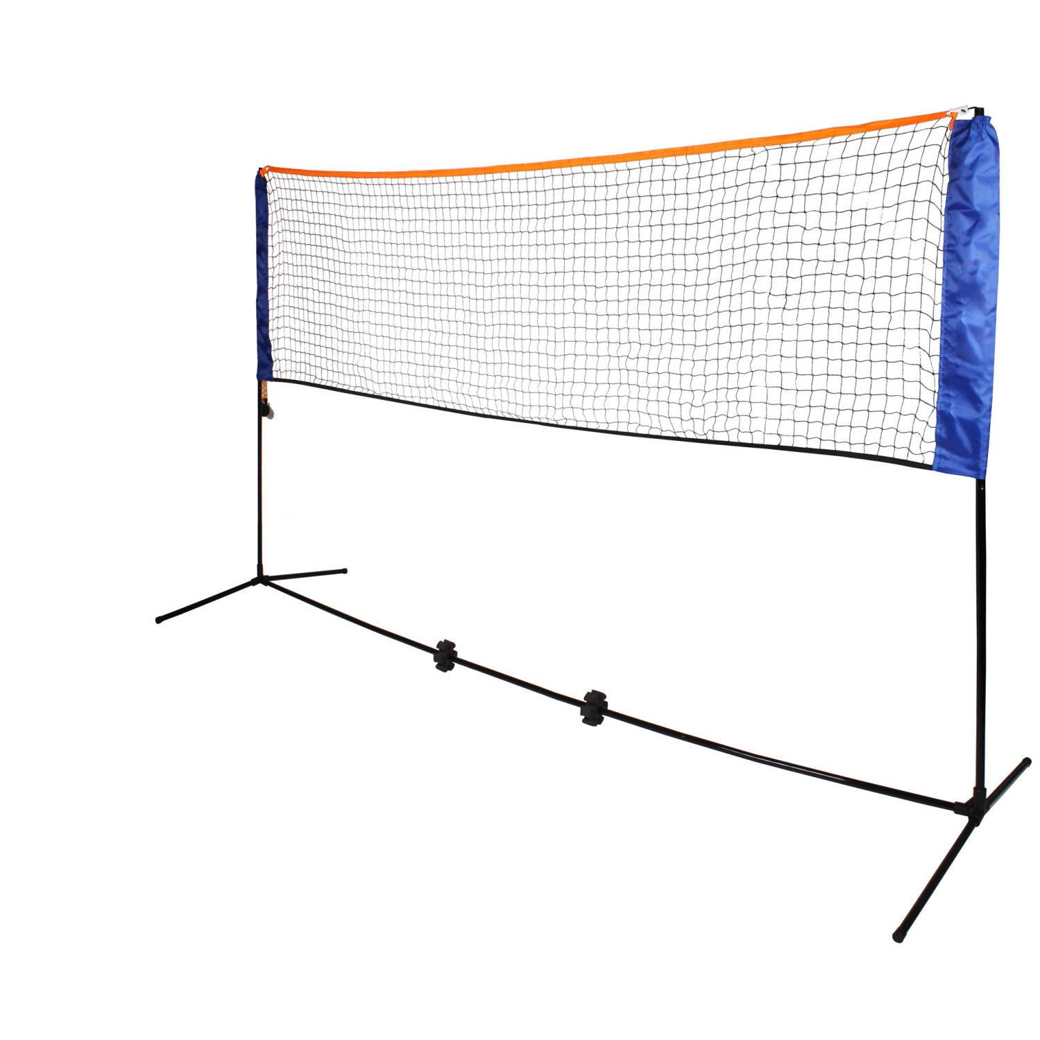 Small 3m Adjustable Foldable Badminton Tennis Volleyball Net