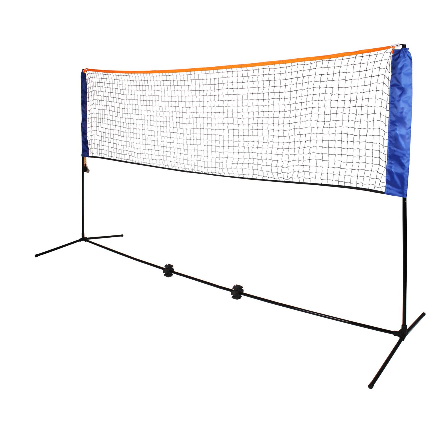 Medium 4m Adjustable Foldable Badminton Tennis Volleyball Net