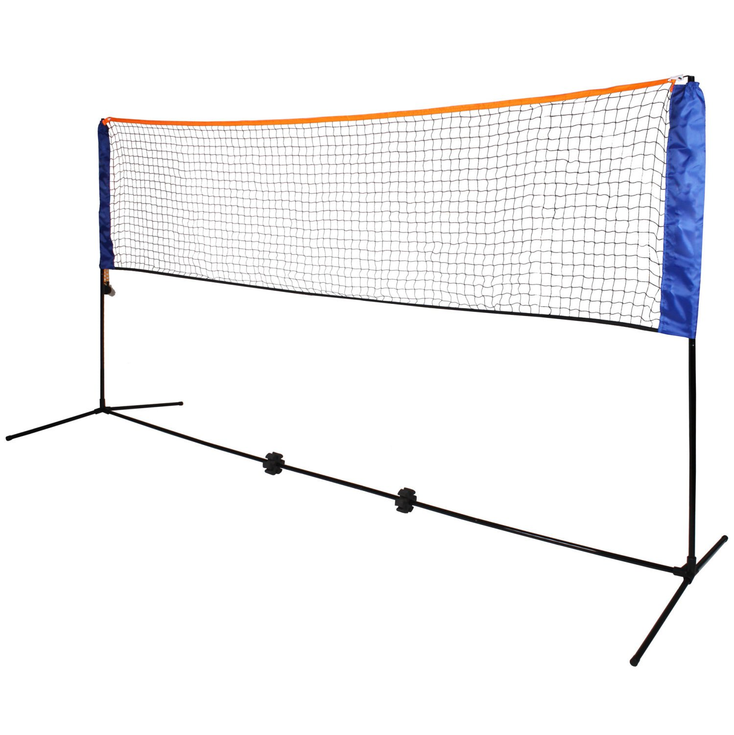 Large 5m Adjustable Foldable Badminton Tennis Volleyball Net