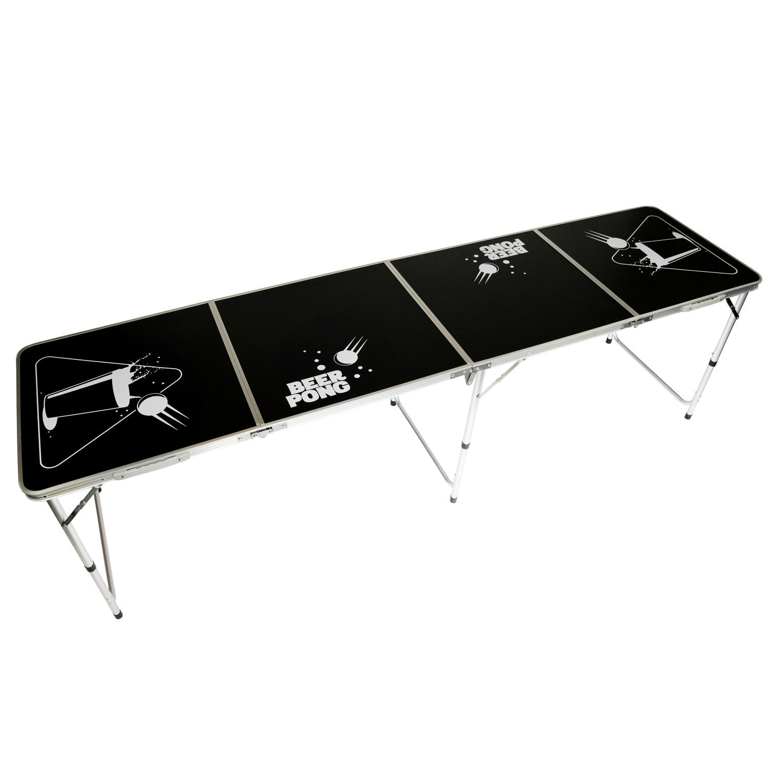 Fabulous Official Size 8 Foot Folding Beer Pong Table Bbq Drinking Download Free Architecture Designs Scobabritishbridgeorg