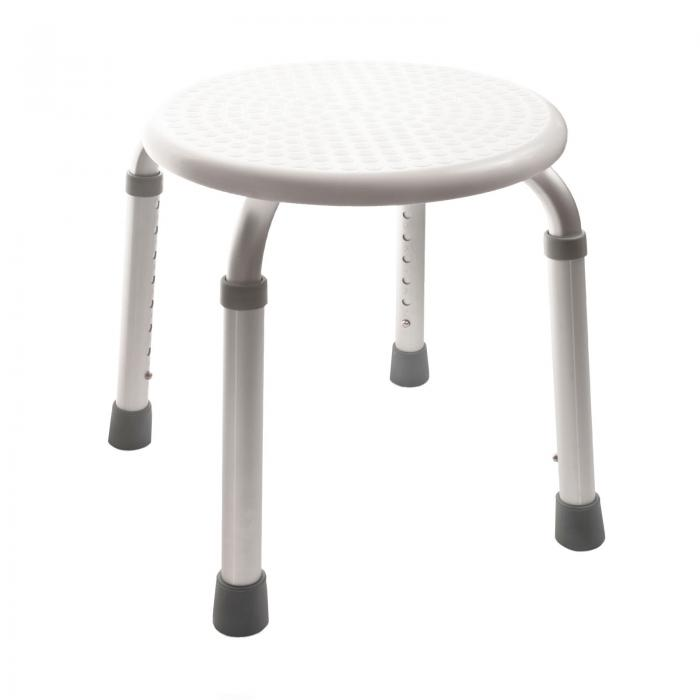 Height Adjustable Round Shower Stool Seat Disability Aid [SC6001 ...