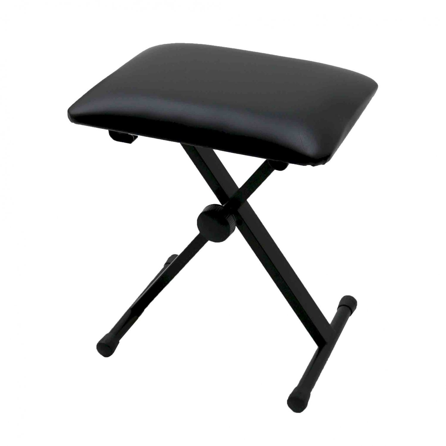 Keyboard Piano Bench Stool Seat Chair Throne Adjustable Portable