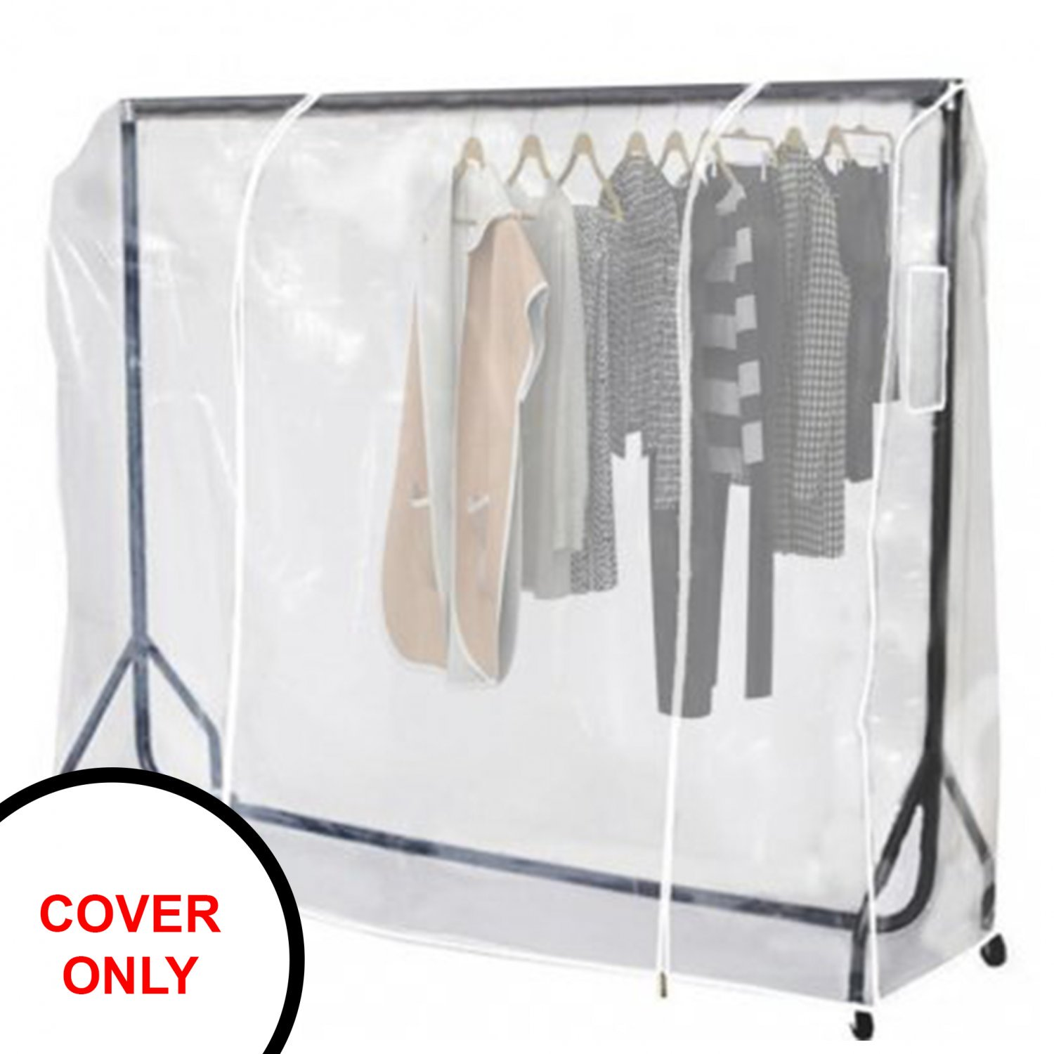 Heavy Duty 5ft Clothes Rail Cover