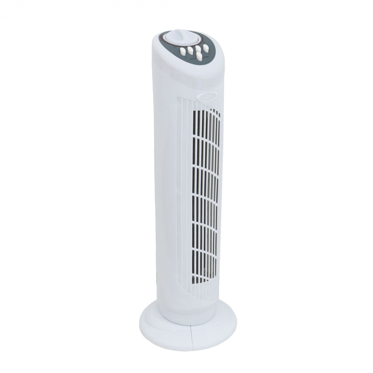 "30"" Free Standing 3-Speed Oscillating Tower Cooling Fan"