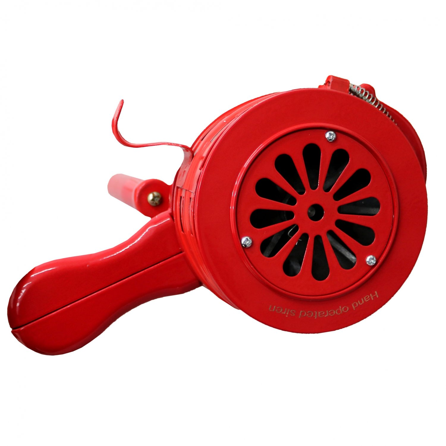 Hand Operated Crank Air Raid Safety Siren Fire Emergency Alarm