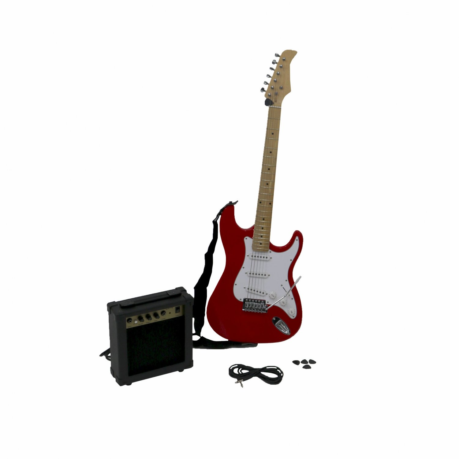 Oypla ST 6 String Full Size Electric Guitar Set with 10W Amp