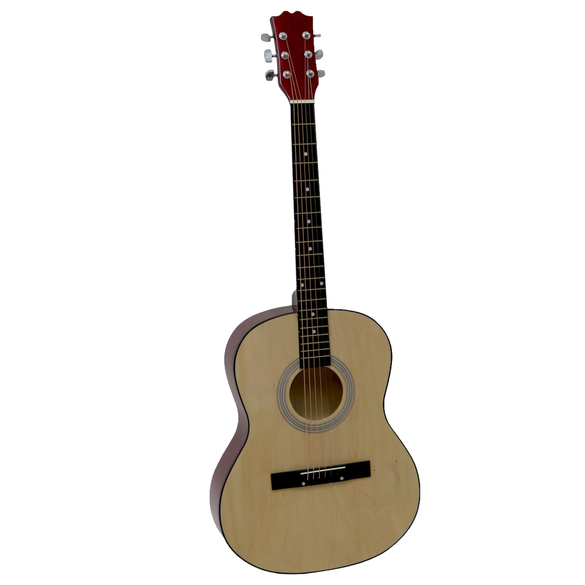 "39"" Full Size 4/4 6 String Steel Strung Acoustic Guitar"
