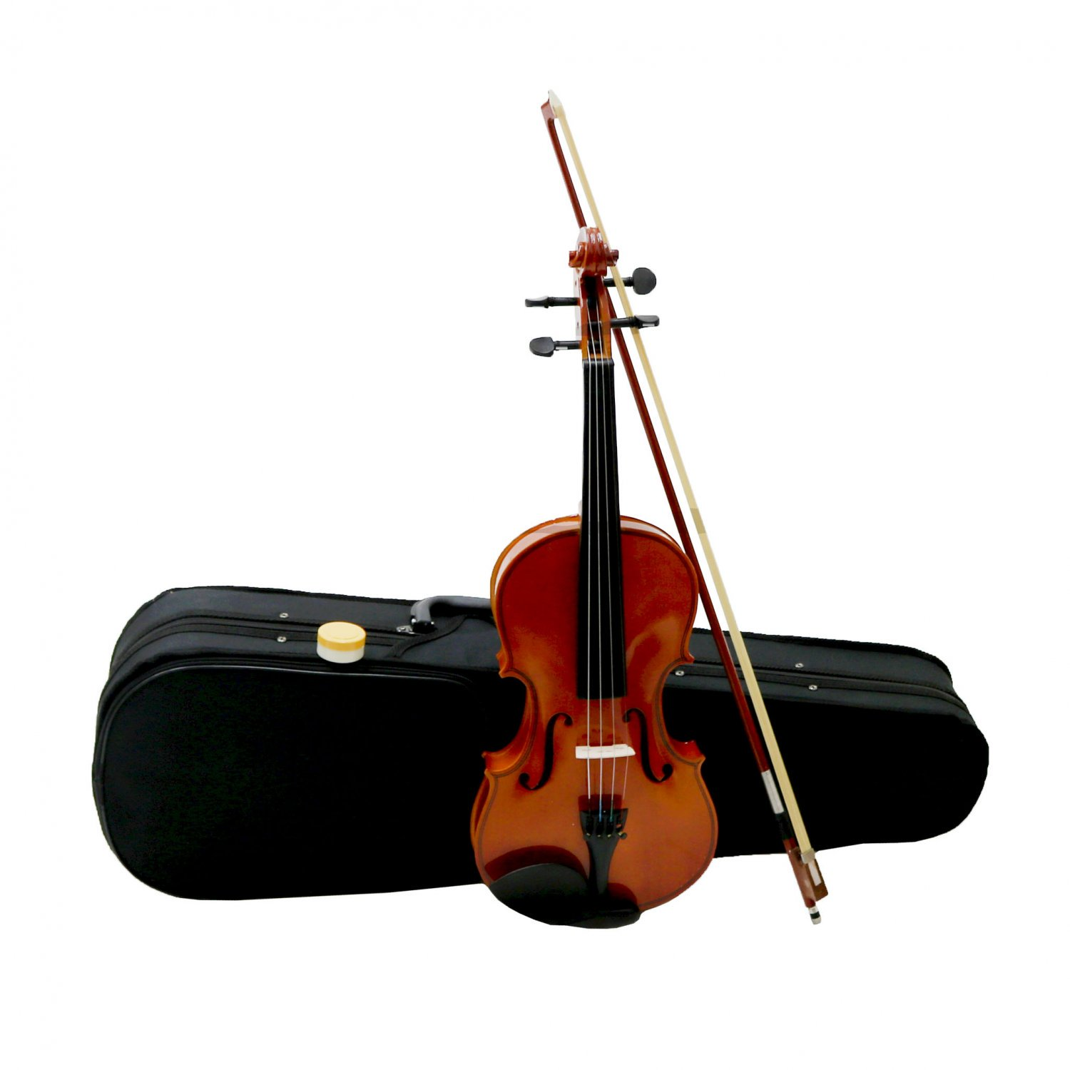 Full Size 4/4 Acoustic Violin Set With Case, Bow & Rosin