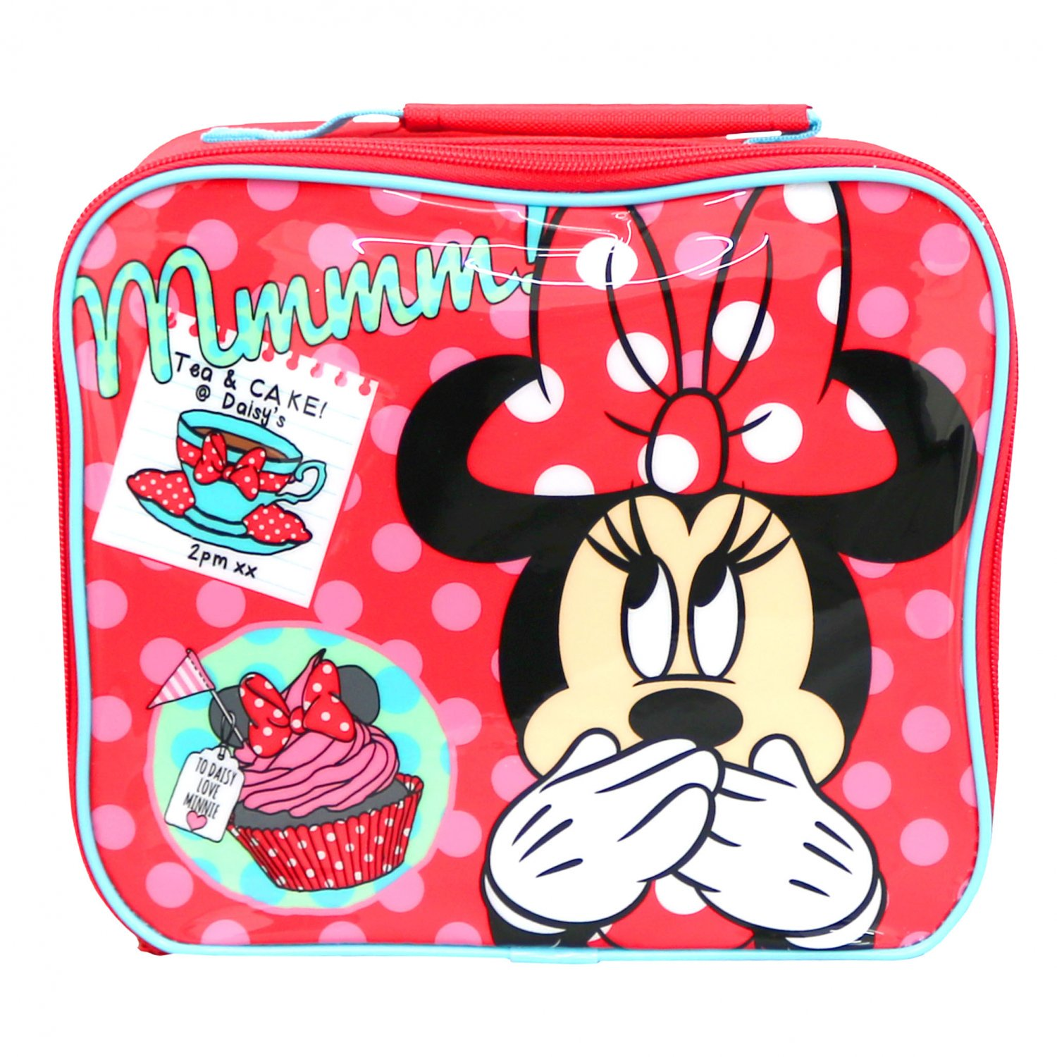 Disney Minnies Day Out Rectangular School Lunch Bag Box