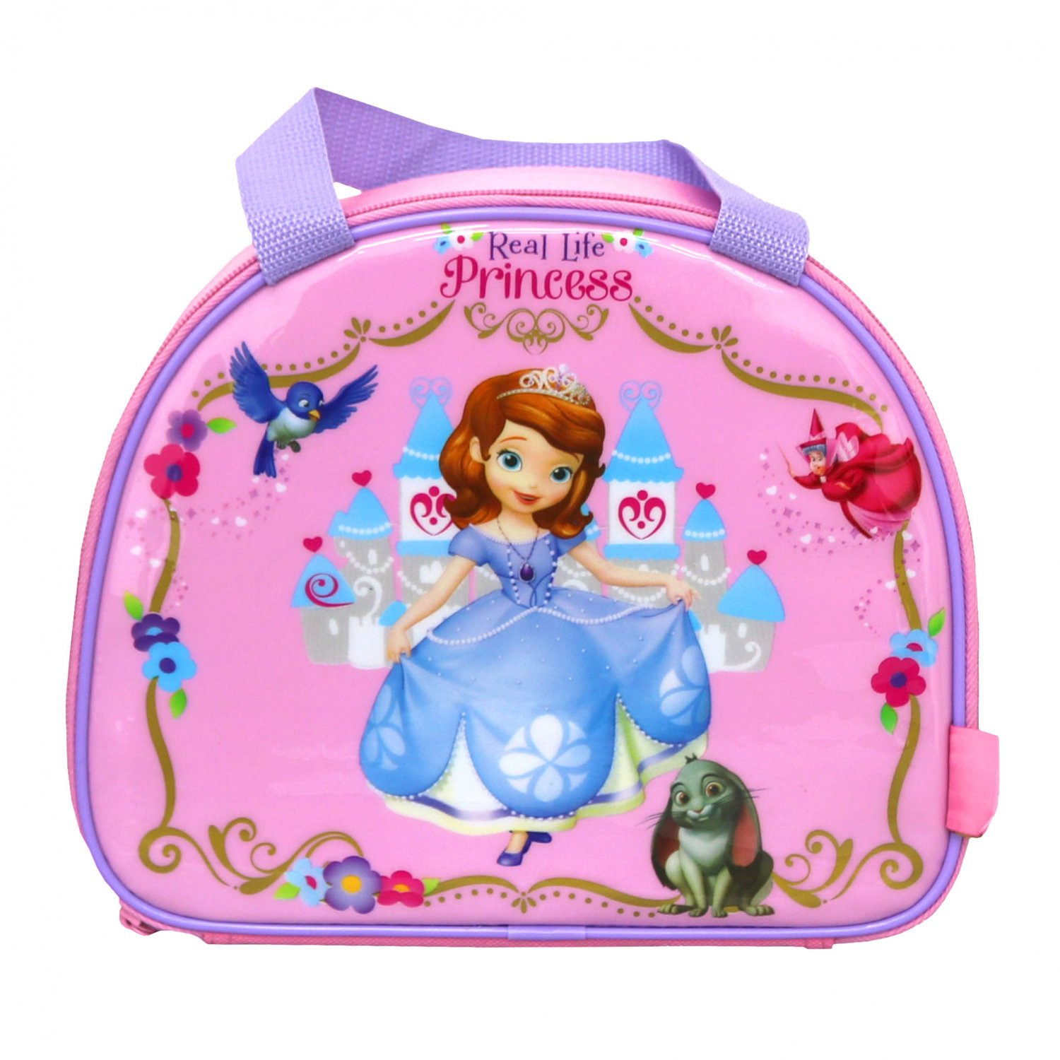 Disney Sofia the First School Lunch Bag Box