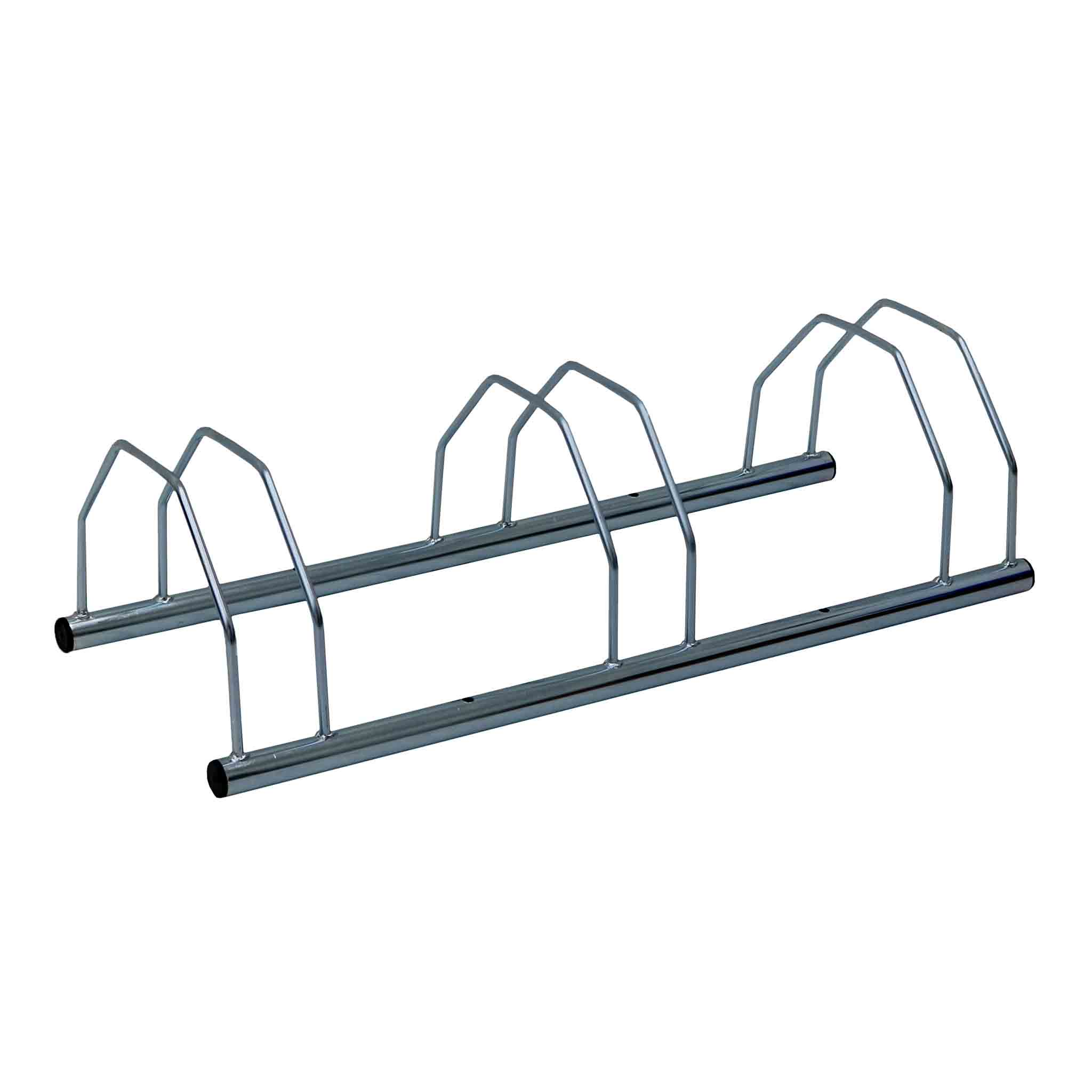 3 Three Slot Metal Heavy Duty Bike Stand Bicycle Storage Rack