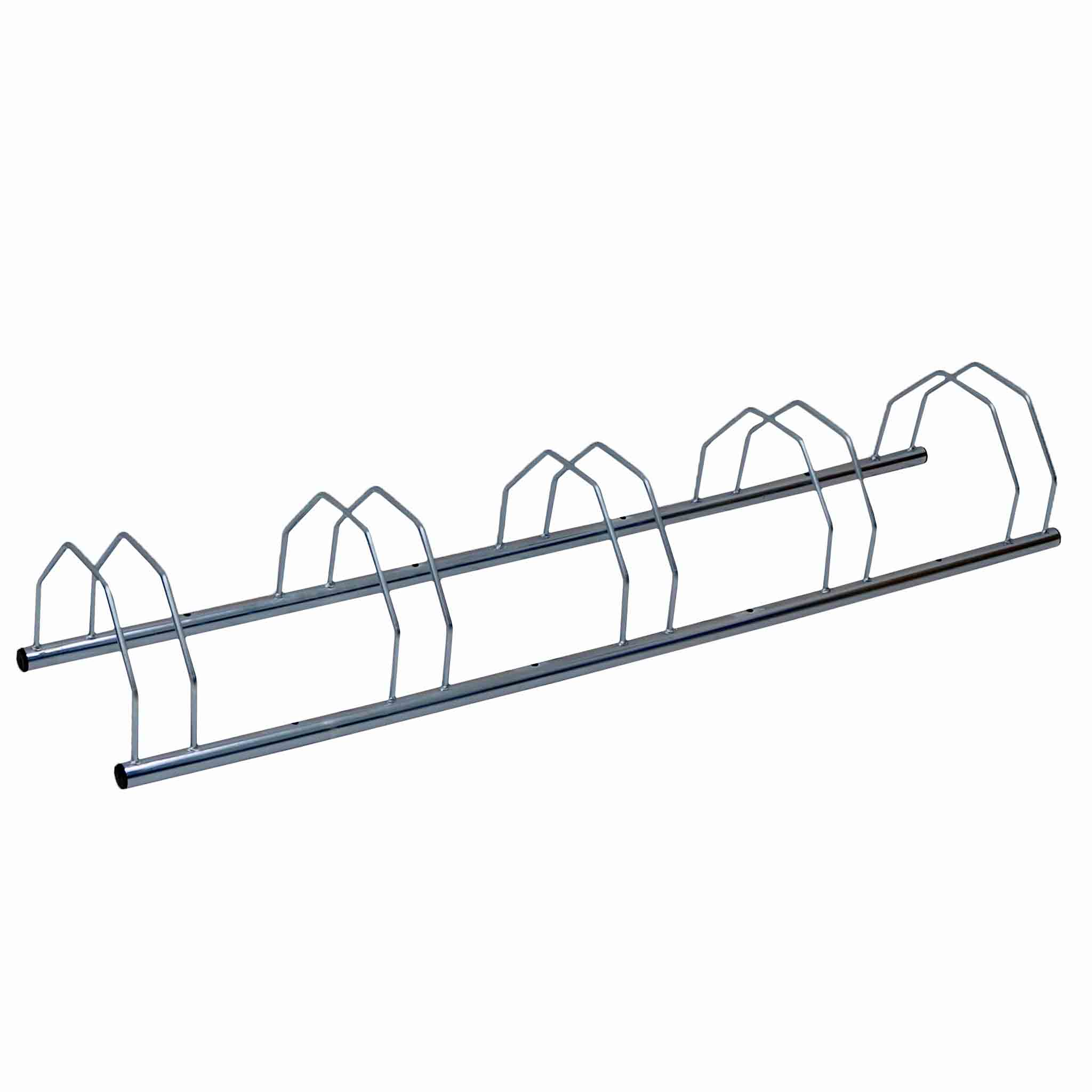 5 Five Slot Metal Heavy Duty Bike Stand Bicycle Storage Rack