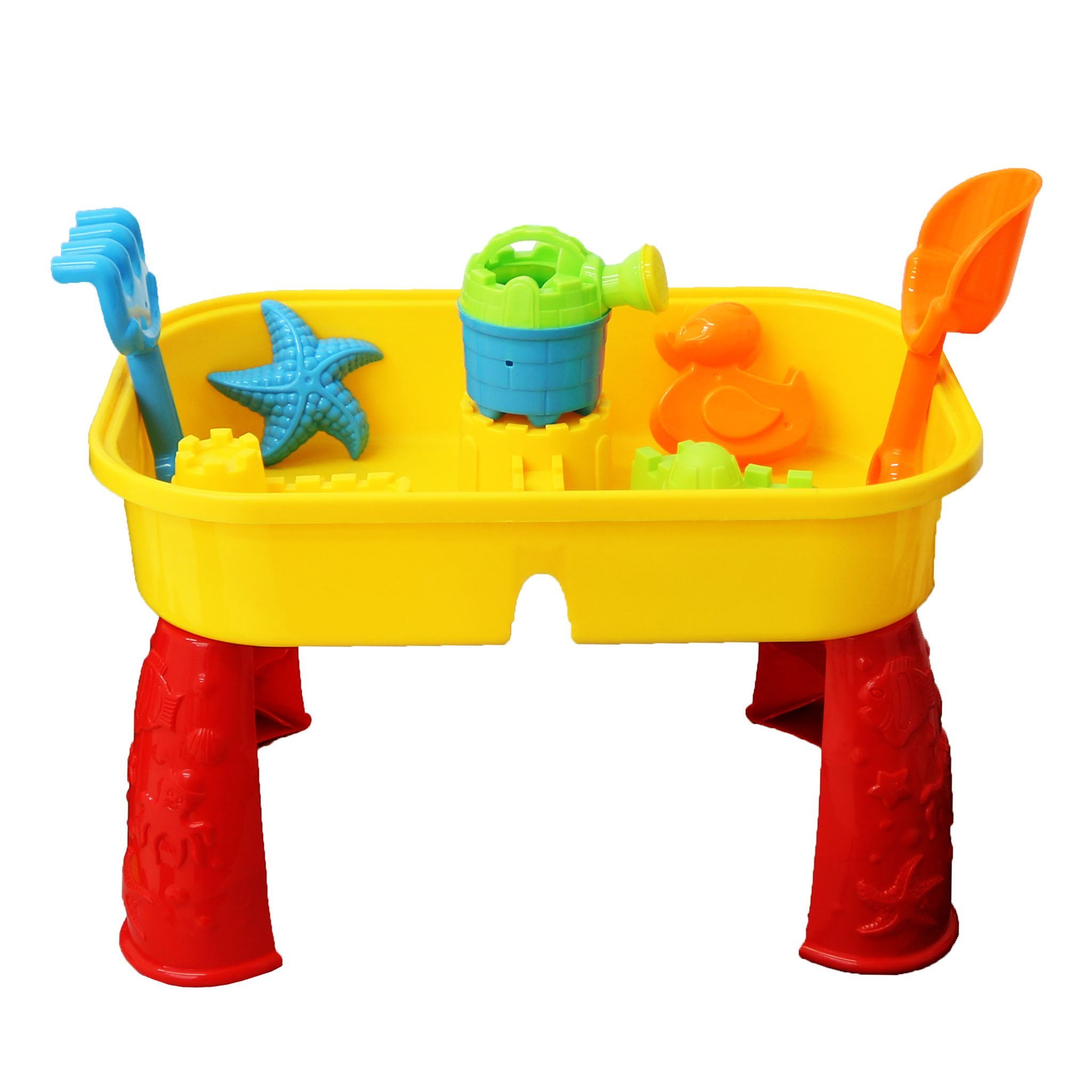 Childrens Outdoor Sand Water Table Spade Bucket Garden Sandpit
