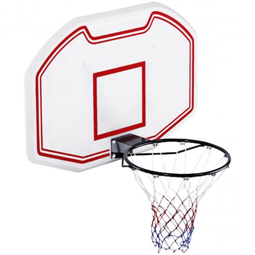 Heavy Duty Wall Mounted Full Size Basketball Backboard Hoop Net