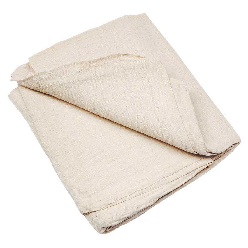 3.6 x 2.7m Heavy Duty Cotton Twill Dust Sheet (12ft x 9ft)