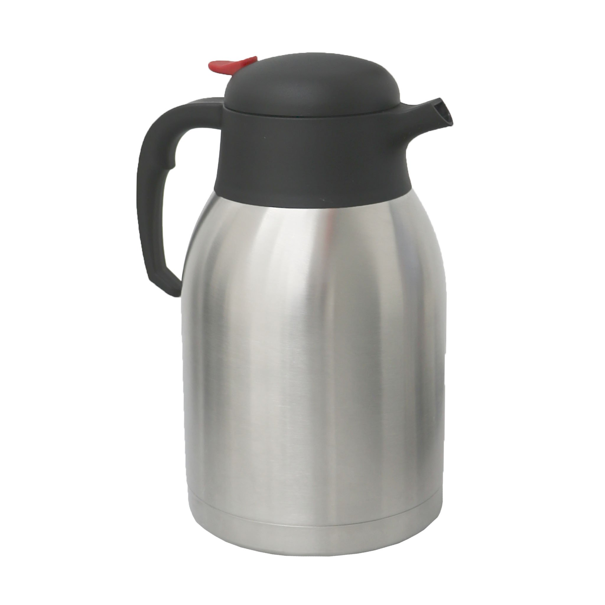 2L Stainless Steel Airpot Insulated Vacuum Thermal Flask Jug