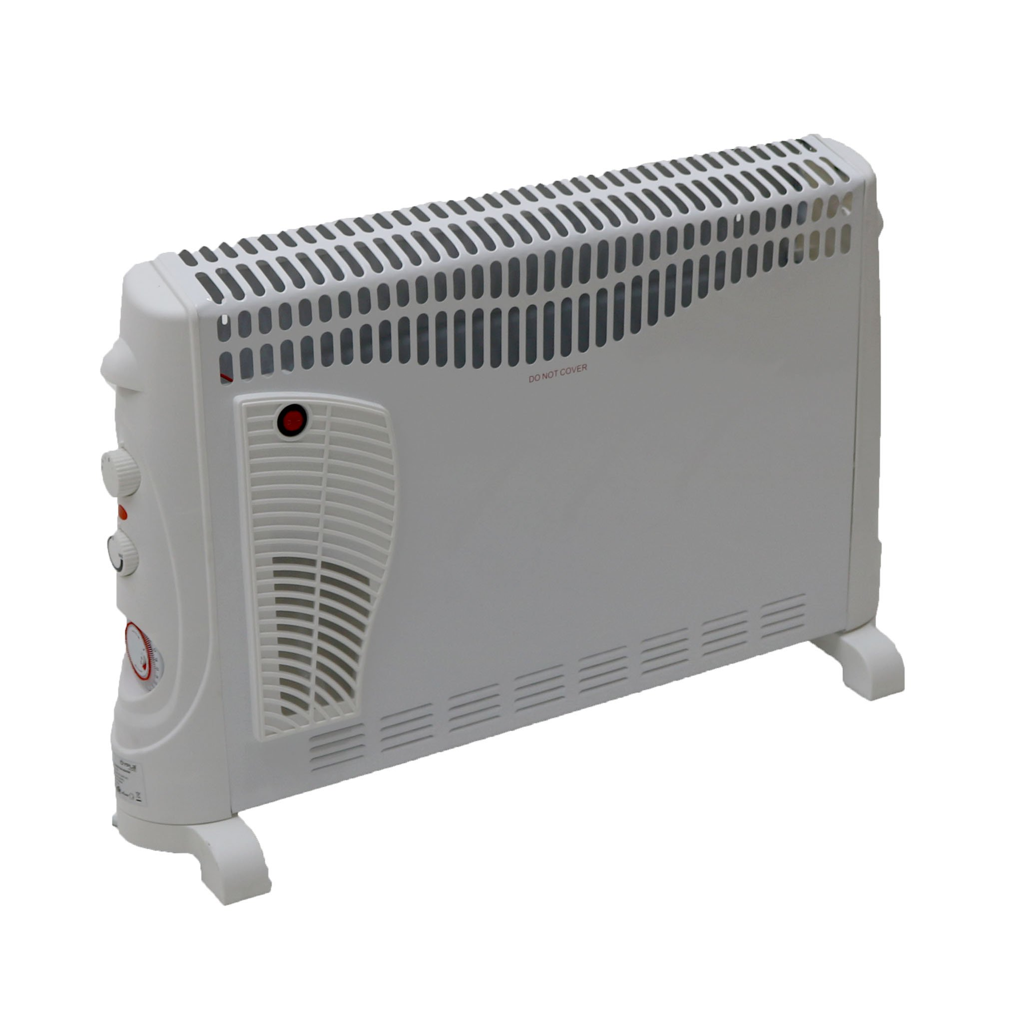2kW Convector Heater - 3 Heat Settings, Turbo and Timer