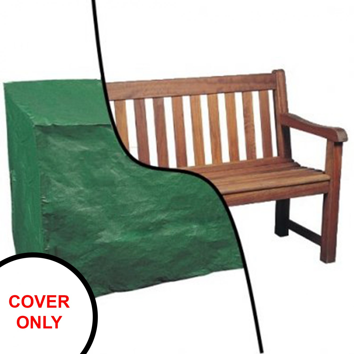 Waterproof 5ft 1.5m Garden Furniture 3 Seater Bench Seat Cover