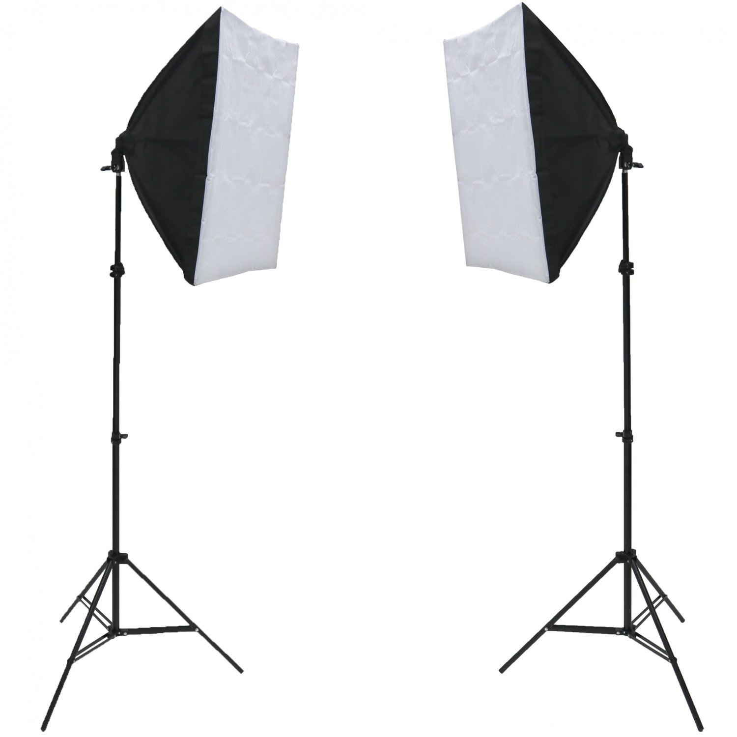 150W Studio Continuous Softbox Lighting Kit w/ Adjustable Stand