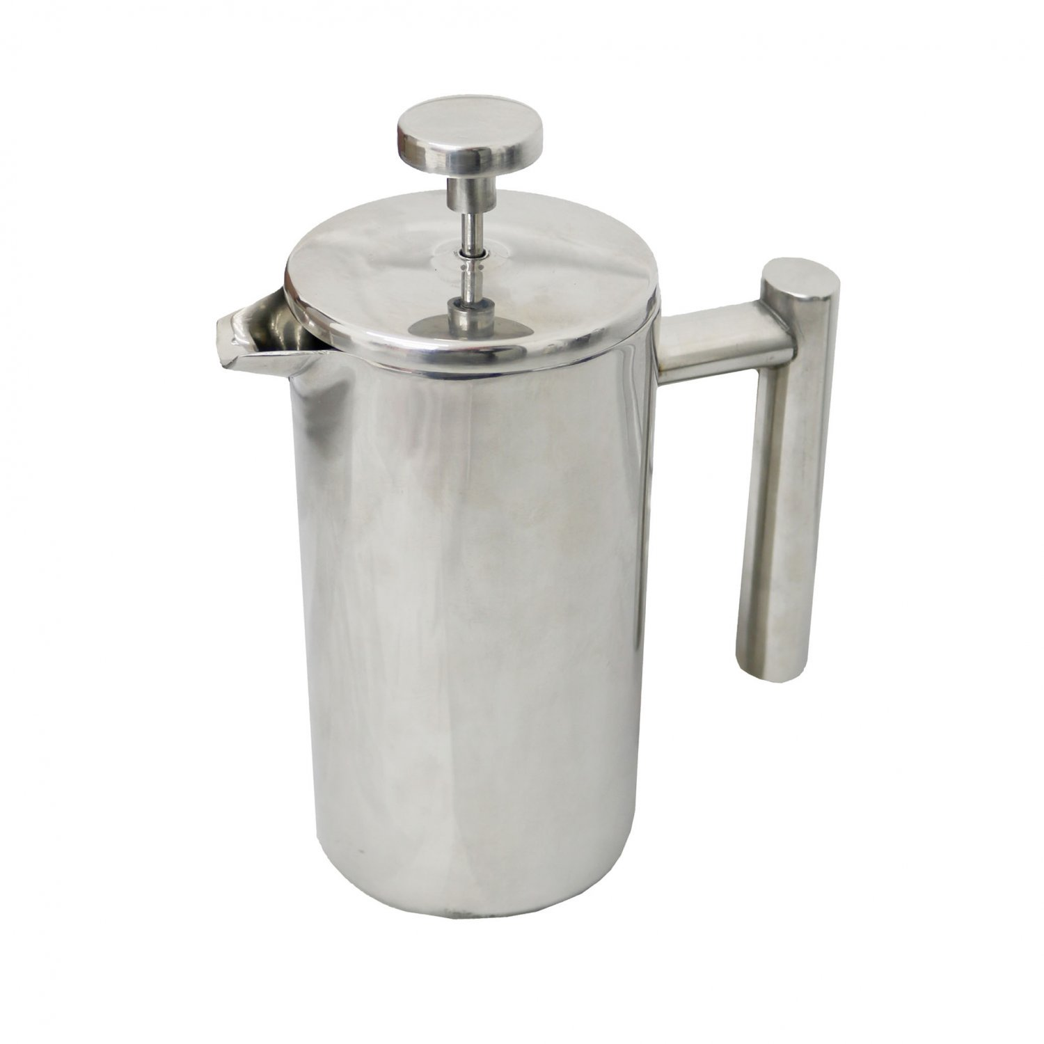 3 Cup 350ml Stainless Steel Cafetiere French Press Coffee Maker