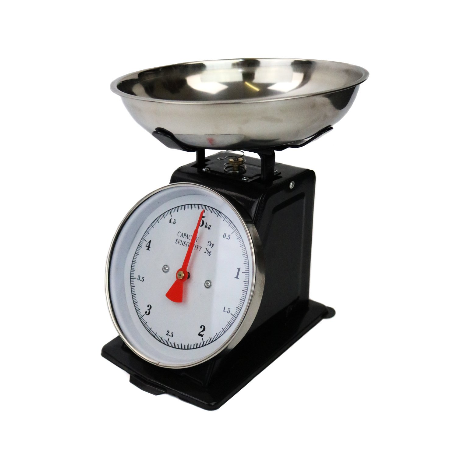 5kg Traditional Mechanical Kitchen Weighing Scales Retro Vintage