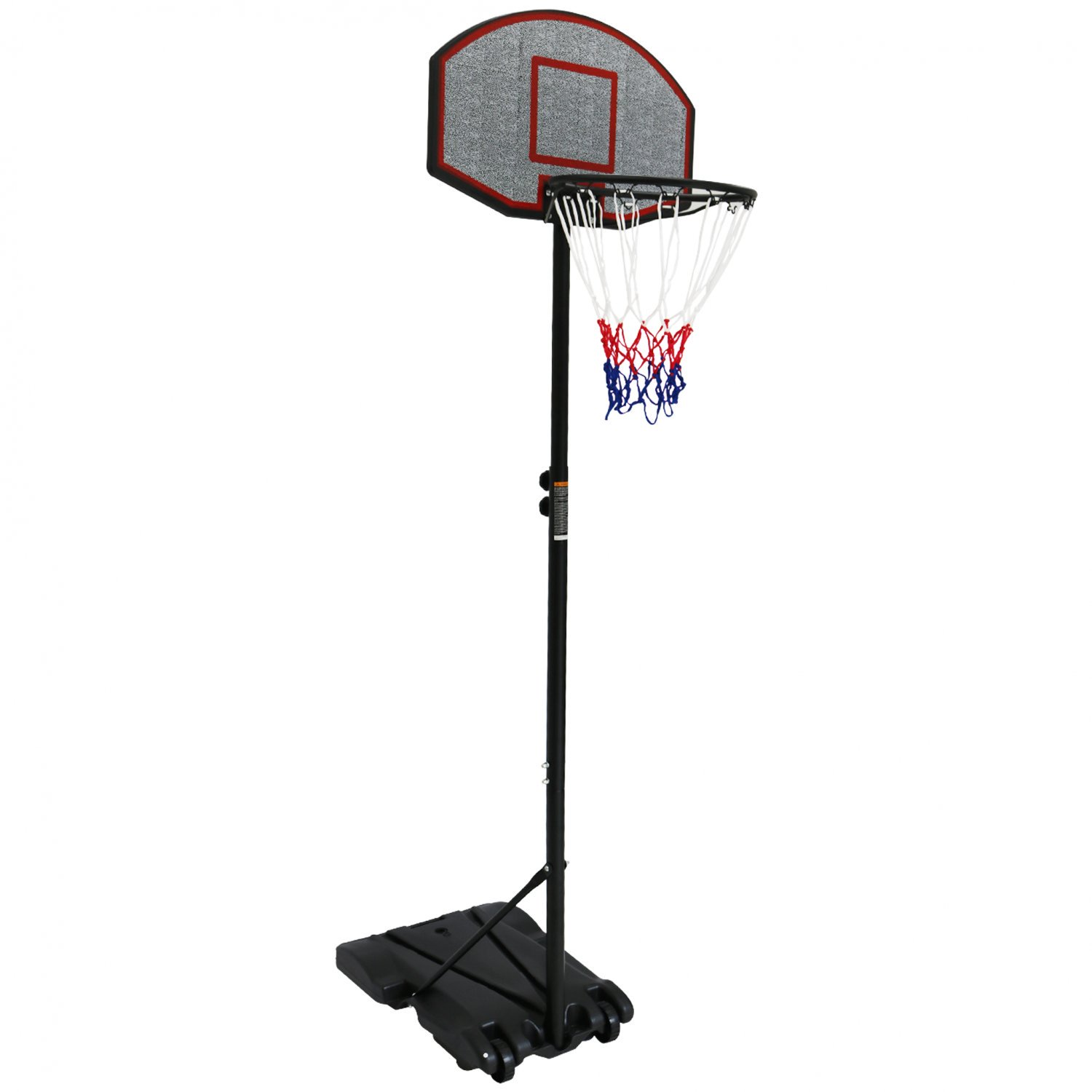 Professional Kids Adjustable Portable Basketball Net 1.7m - 2.1m