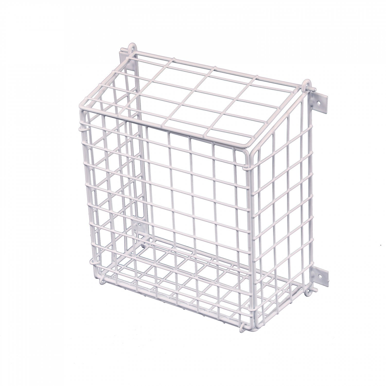 Medium Letterbox Door Post Mail Catcher Basket Cage Holder Guard