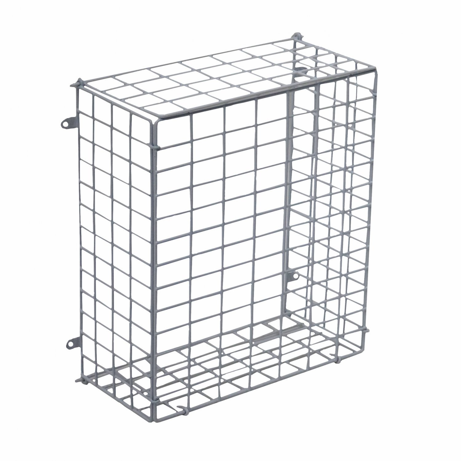 Large Letterbox Door Post Mail Catcher Basket Cage Holder Guard