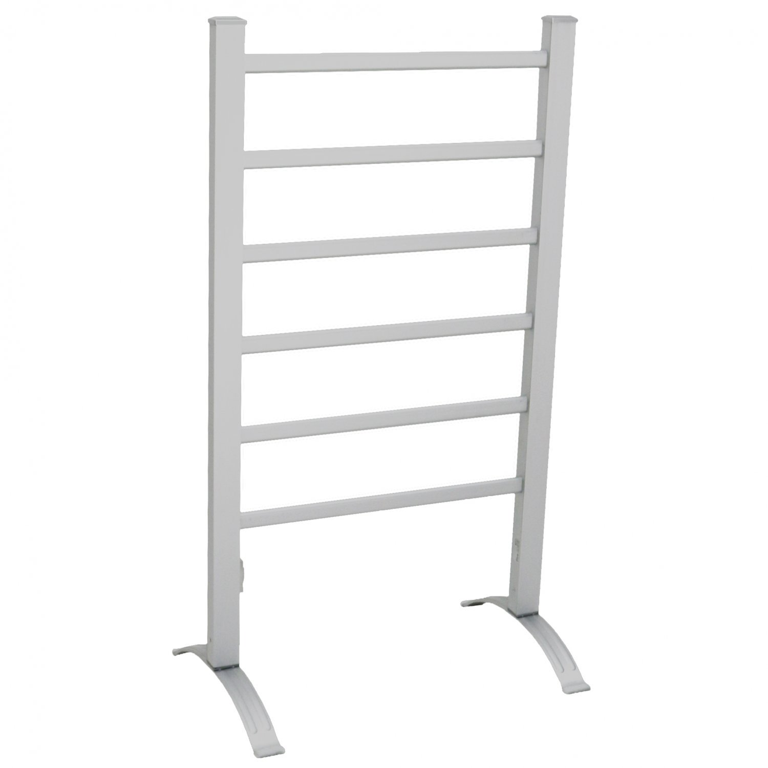 Portable Aluminium Electric Towel Rail Warmer with 6 Heated Bars