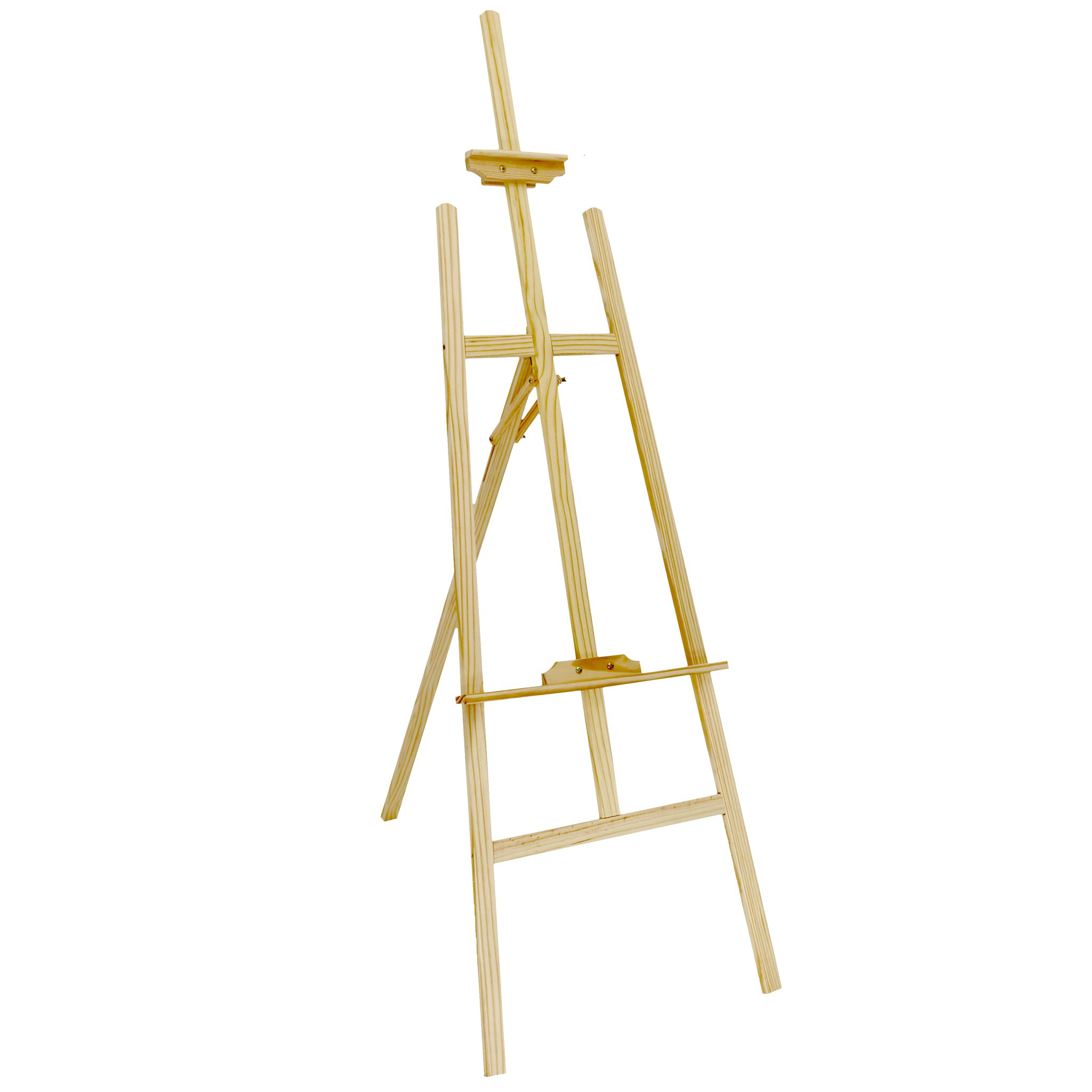 6ft 1800mm Wooden Pine Tripod Studio Canvas Easel Art Stand