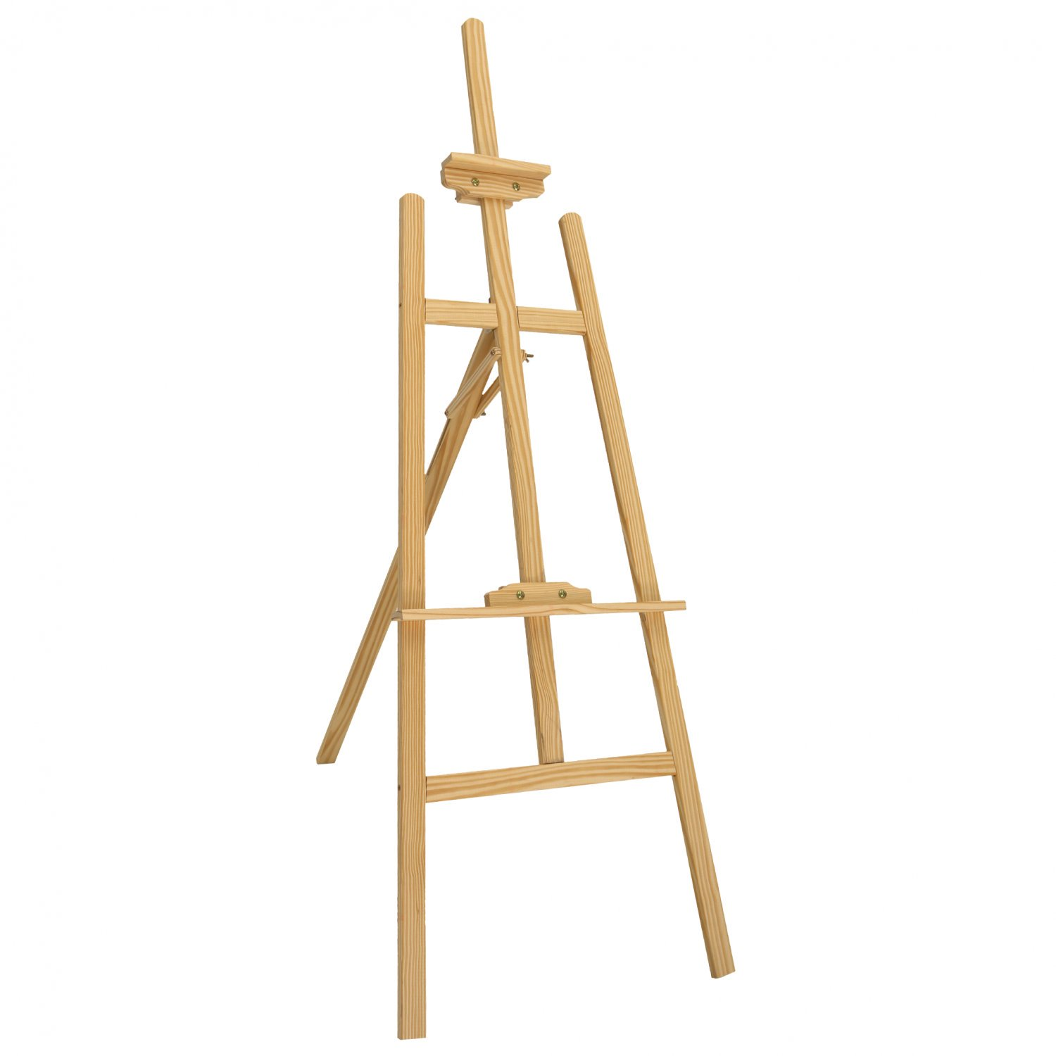 5ft 1500mm Wooden Pine Tripod Studio Canvas Easel Art Stand