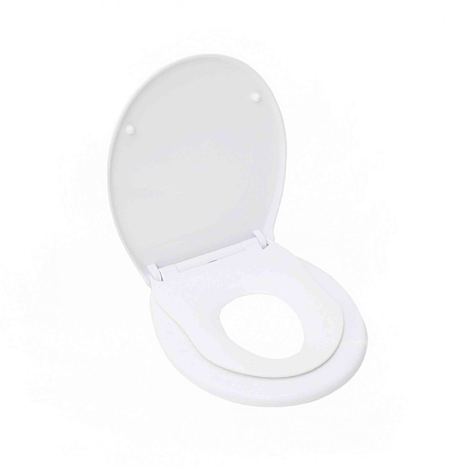 Soft Close Family Child Potty Training Toilet Seat with Fixings