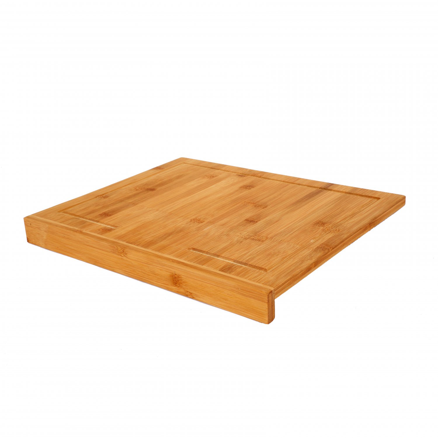 Counter Edge Bamboo Wooden Chopping Cutting Board Kitchen