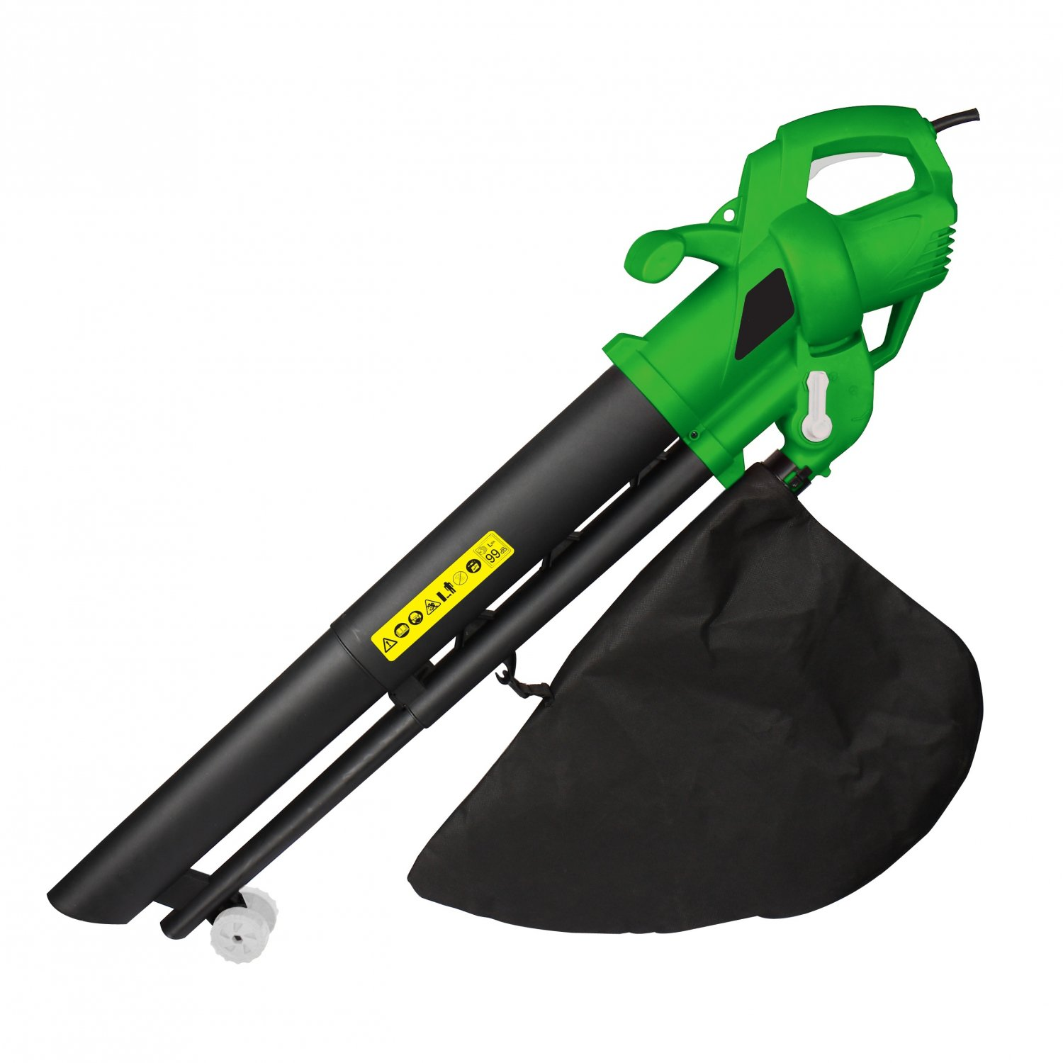 3-in-1 2600W Electric Garden Leaf Blower and Vacuum Mulcher