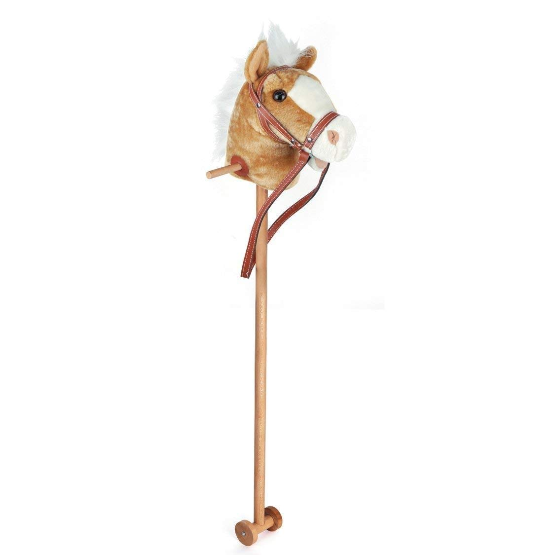 100cm Childrens Kids Toy Hobby Stick Horse with Neighing Sound