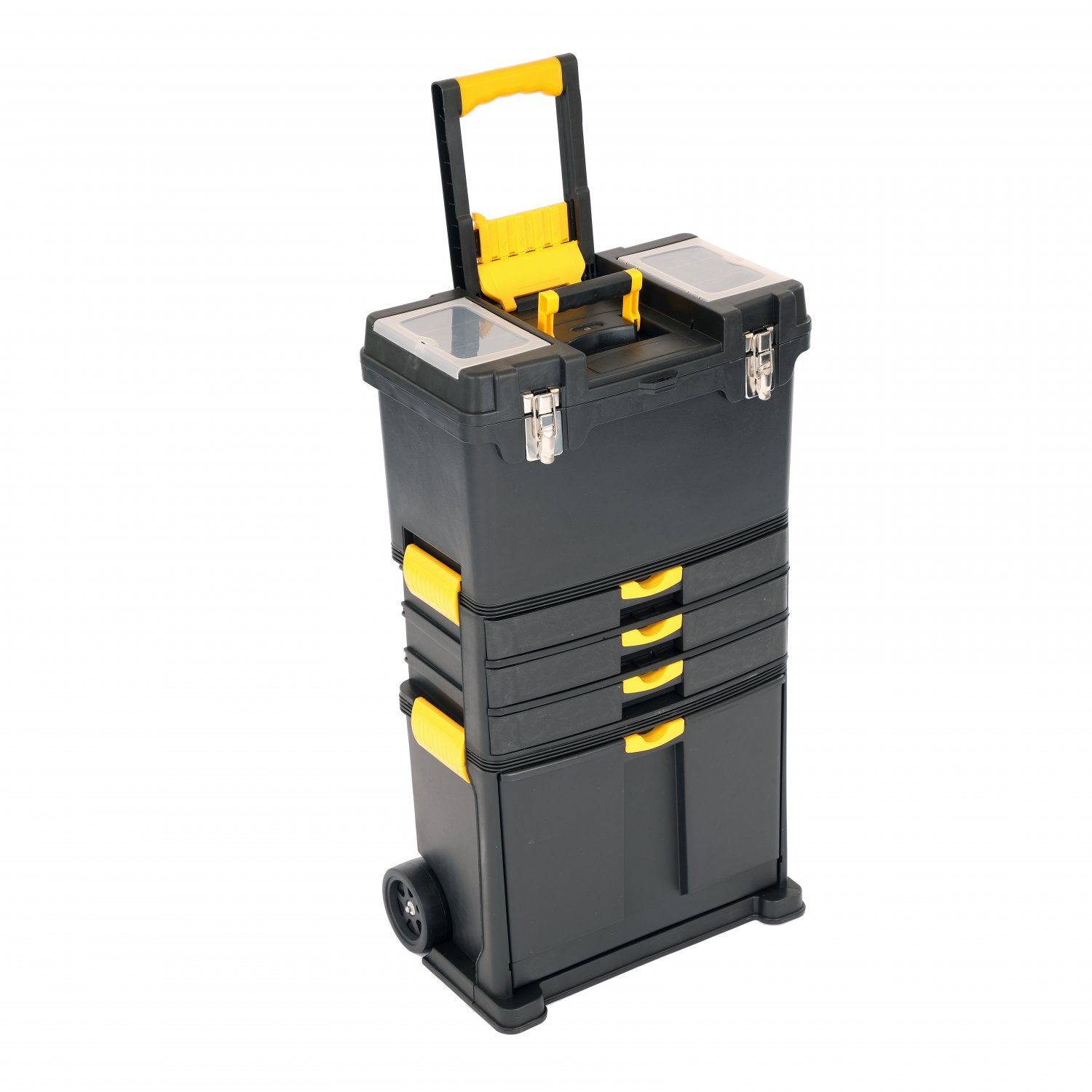 Rolling Tool Box Chest Trolley Mobile Garage Storage Cart