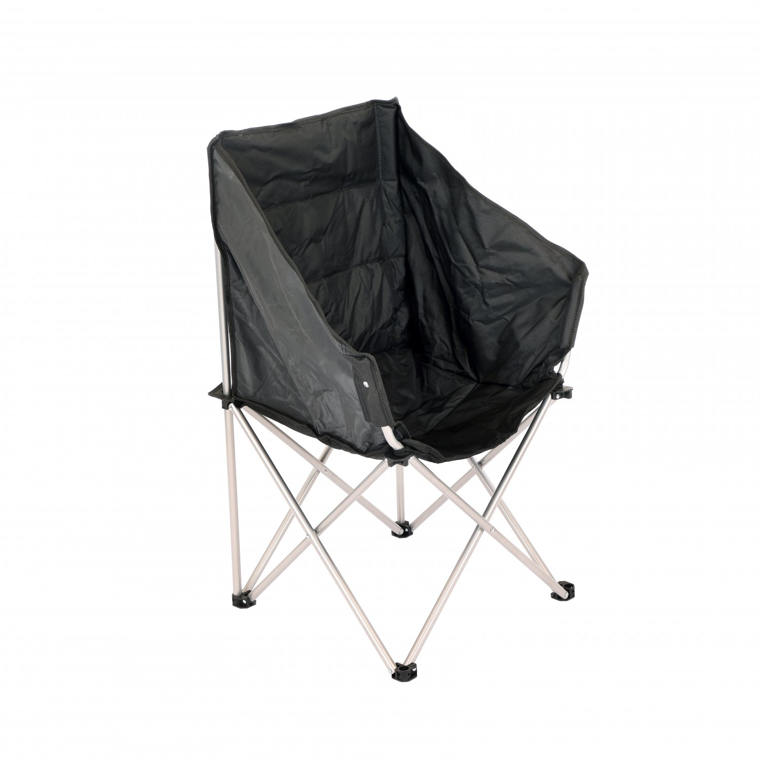 Folding Outdoor Portable Camping Padded Tub Moon Chair Seat