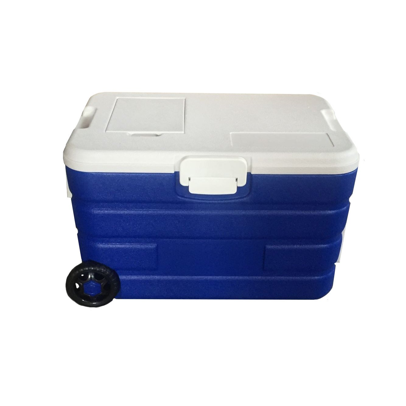 40L Rolling Ice Cool Box Cooler Portable Drinks Storage