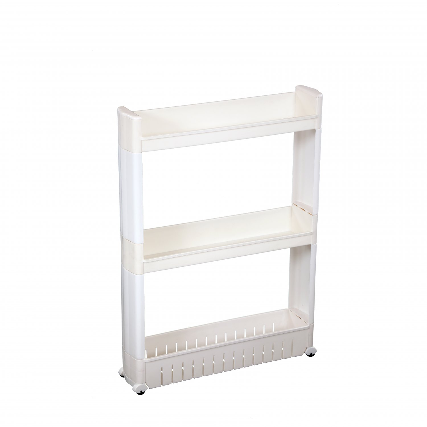 3 Tier Slide Out Kitchen Bathroom Storage Tower Shelf Organiser