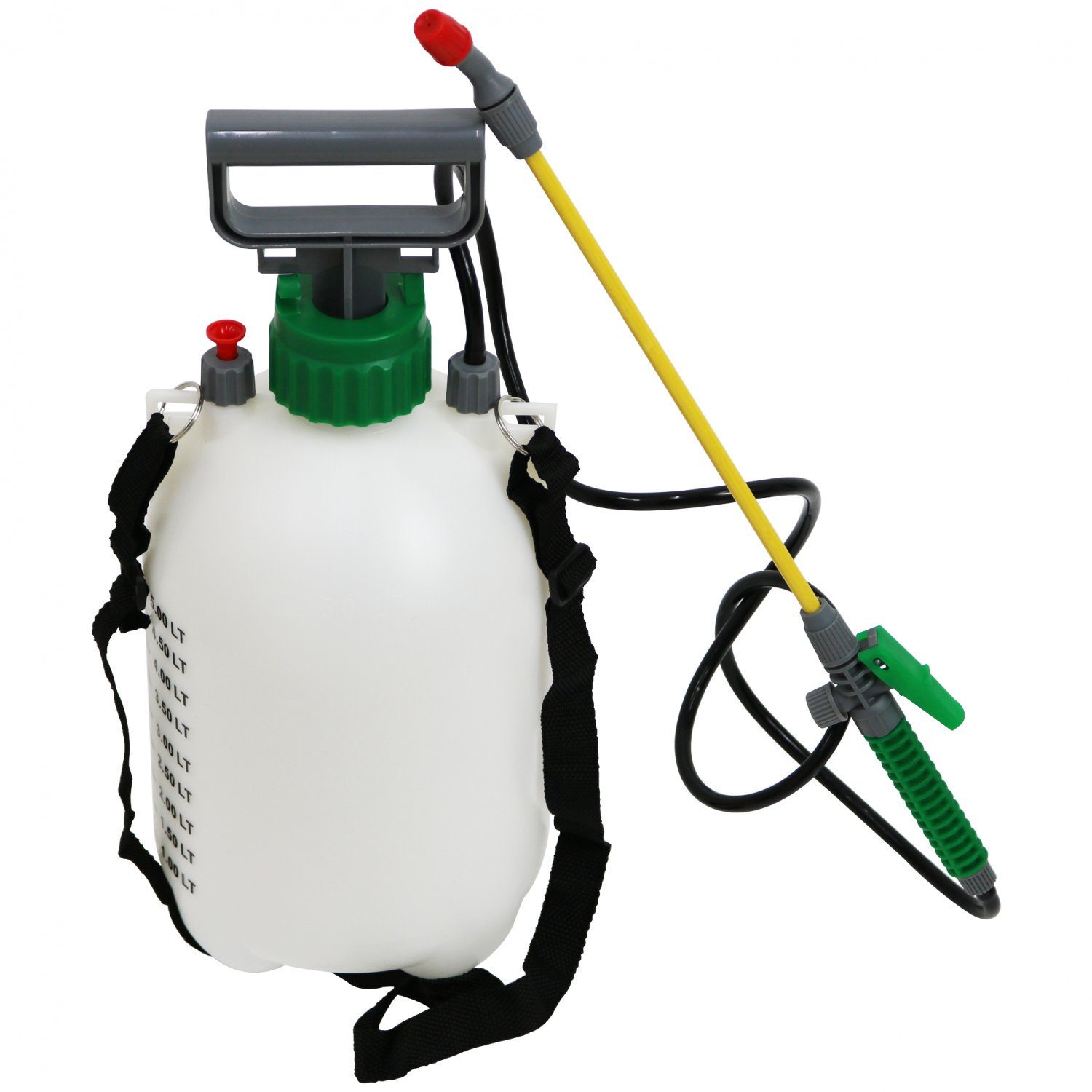 5L 5 Litre Pump Action Pressure Crop Garden Weed Sprayer
