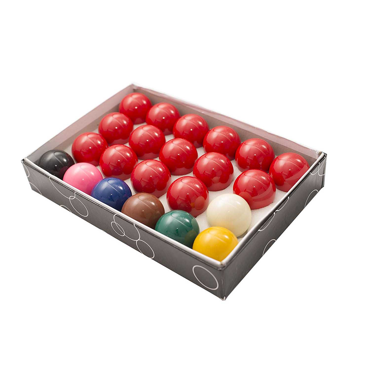 Full Size Regulation 22 Snooker Billiard Ball Set 2 1/16""