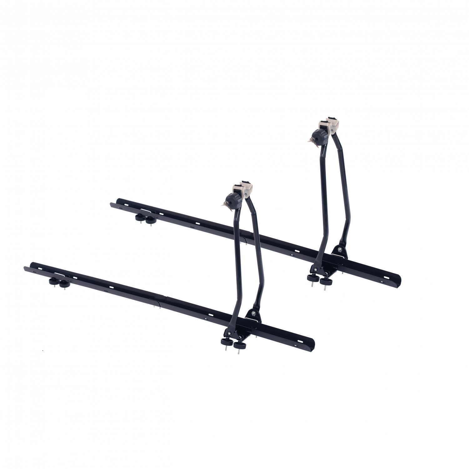 2x Universal Lockable Roof Mounted Bike Bicycle Rack Carriers