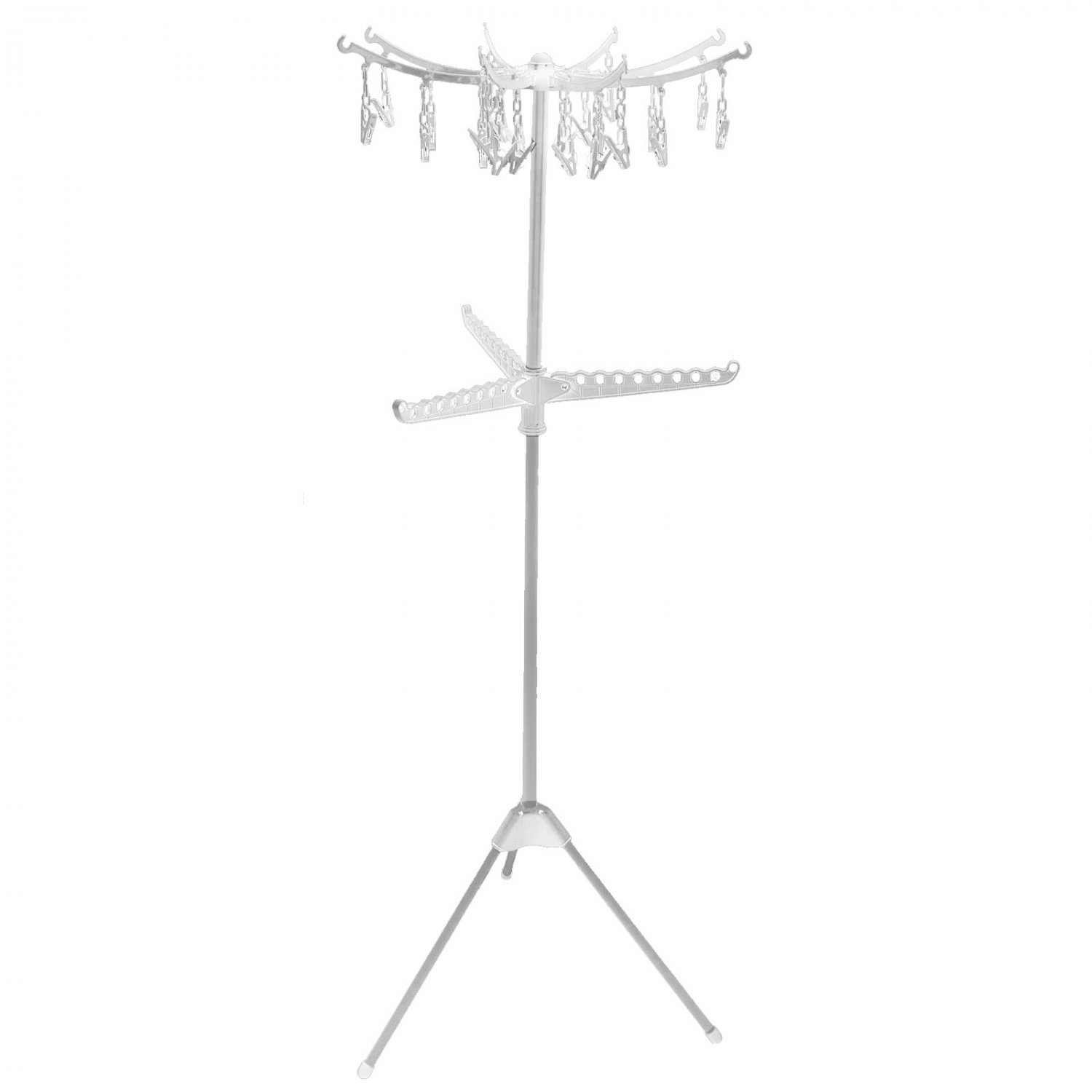 Portable Folding Indoor Multi Clothes Airer Laundry Hanger Dryer